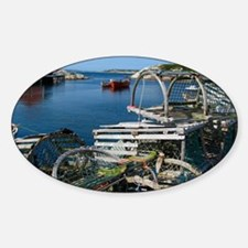 Bar Harbor Maine- sq.  Sticker (Oval)