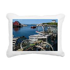 Bar Harbor Maine- sq.  Rectangular Canvas Pillow