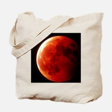Total eclipse of the Moon in October 1996 Tote Bag