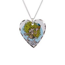 Feral Boy Necklace Heart Charm