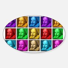 Pop Art Shakespeare Decal