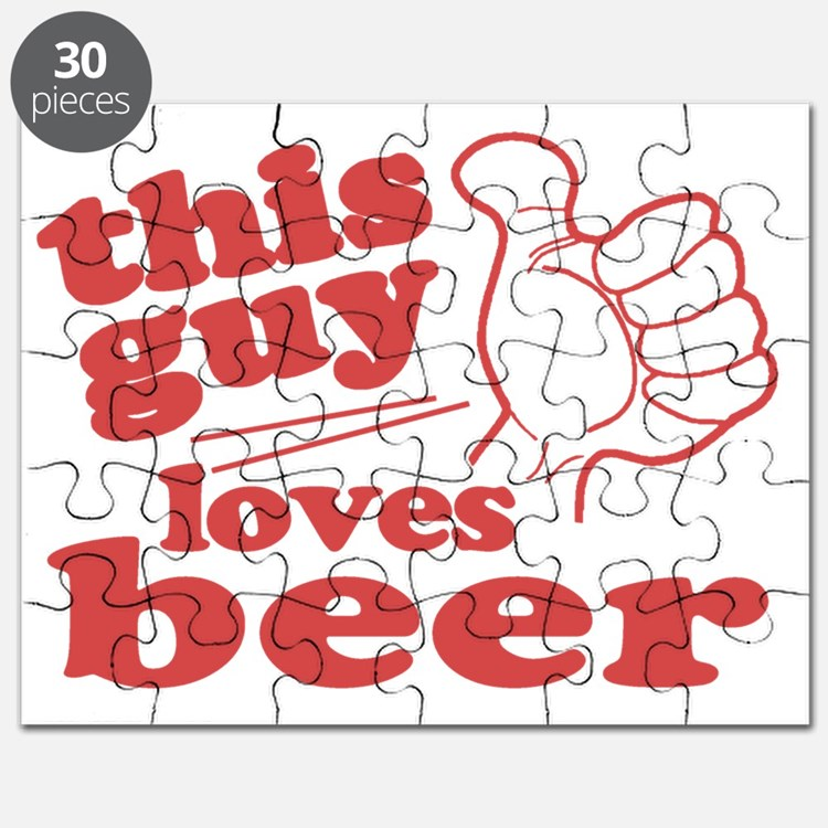 This Guy Loves Beer Puzzle