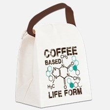 Coffee based life form Canvas Lunch Bag