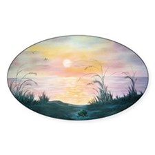 Sunset Over the Dunes Decal