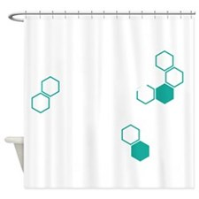 Coffee based life form Shower Curtain