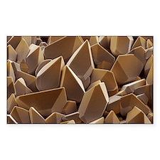 Tungsten crystals Decal