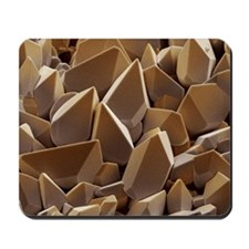 Tungsten crystals Mousepad