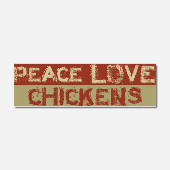 Cool Chickens Car Magnet 10 x 3