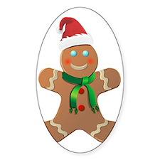 Gingerbread man Decal