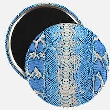 Blue Snake Skin Magnet