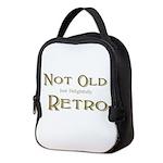 Delightfully Retro Neoprene Lunch Bag