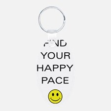 Find Your Happy Pace Keychains