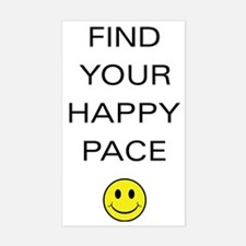 Find Your Happy Pace Decal