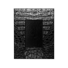 Black Alligator Skin Picture Frame