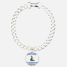 DuFief Elementary Dragon Charm Bracelet, One Charm