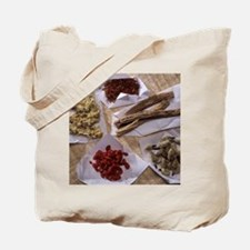 Traditional Chinese medicines Tote Bag