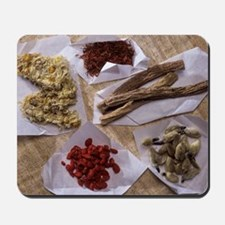 Traditional Chinese medicines Mousepad