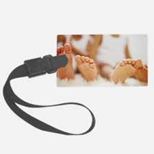 Twin feet Luggage Tag