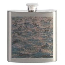 Triathlon swimmers Flask