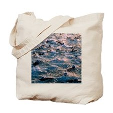 Triathlon swimmers Tote Bag
