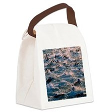 Triathlon swimmers Canvas Lunch Bag