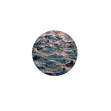 Triathlon swimmers Mini Button