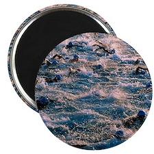 Triathlon swimmers Magnet
