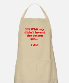Cotton Gin BBQ Apron