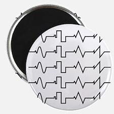 HeartzBeat EKG [BLACK] Magnet