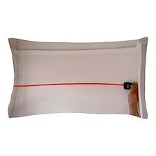Ultrasonic tape measure Pillow Case
