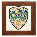 Lyon County Sheriff Framed Tile
