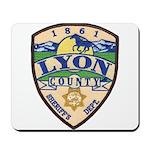 Lyon County Sheriff Mousepad