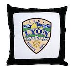 Lyon County Sheriff Throw Pillow