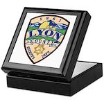 Lyon County Sheriff Keepsake Box