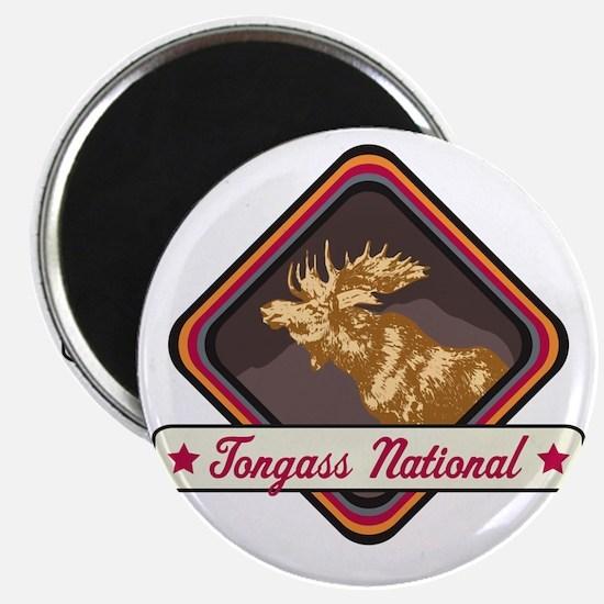 Tongass Pop-Moose Patch Magnet