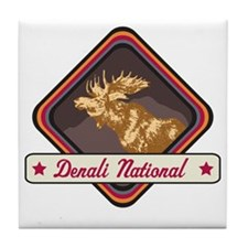 Denali Pop-Moose Patch Tile Coaster