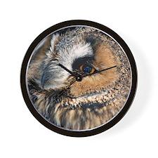 Eagle Owl Queen Duvet Wall Clock