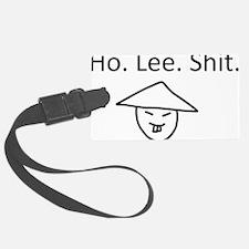 Ho Lee Shit / Holy Shit Luggage Tag