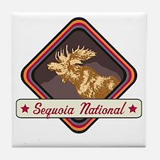 Sequoia Pop-Moose Patch Tile Coaster