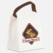 Sequoia Pop-Moose Patch Canvas Lunch Bag