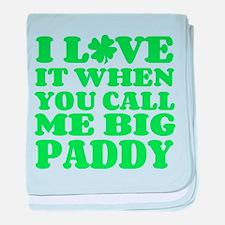 Big Paddy baby blanket