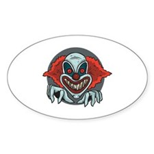 Clown Oval Decal