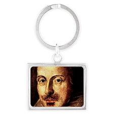 Shakespeare-clasp Landscape Keychain
