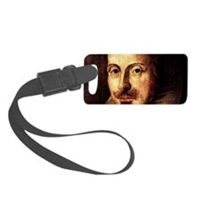 Shakespeare-clasp Luggage Tag