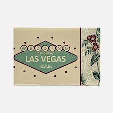 Wedding In Las Vegas Rectangle Magnet