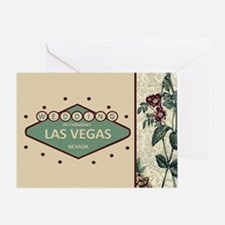 Wedding In Las Vegas Greeting Card