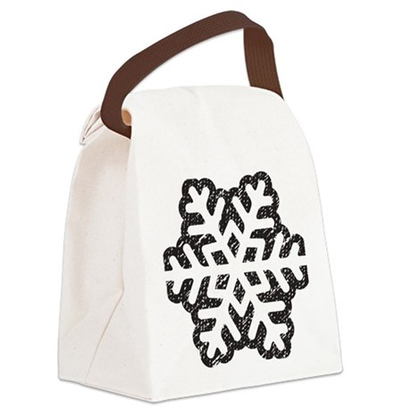 Flakey Canvas Lunch Bag