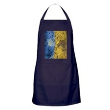 Van Gogh Wheatfield with Crows Apron (dark)