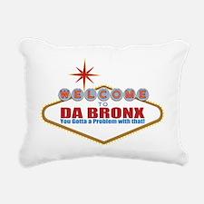 Da Bronx Rectangular Canvas Pillow