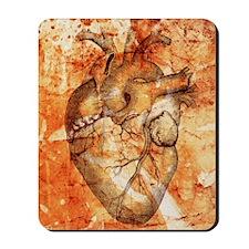 Unhealthy heart Mousepad